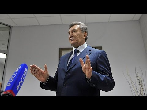 Ukraine: exiled ex-President
