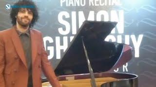 Resital Piano Simon Ghraichy - Pukau Penikmat Musik Klasik di Bandung