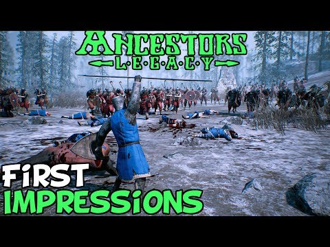 """Ancestors Legacy First Impressions """"Is It Worth Playing?"""""""
