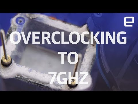 Overclocking to 7GHz with Liquid Nitrogen | Hands-On | Computex 2017 Mp3