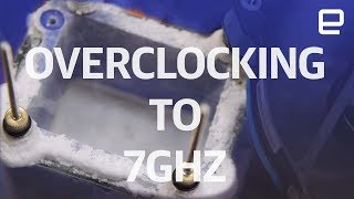 Overclocking to 7GHz with Liquid Nitrogen | Hands-On | Computex 2017