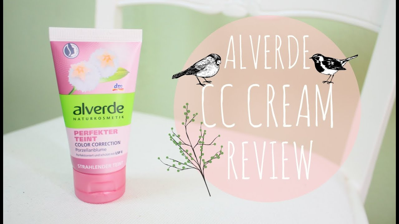kauftipp alverde cc cream review naturkosmetik. Black Bedroom Furniture Sets. Home Design Ideas