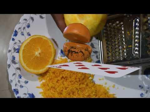 How to Bake Moist Orange and Poppy seed Cake