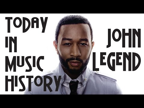 "Today in Music History - ""John Legend"" Mini-Documentary"