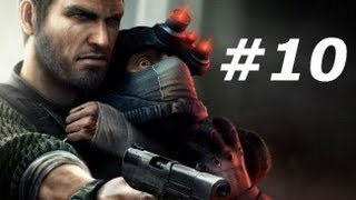 Splinter Cell Conviction Gameplay Walkthrough Part 10-Black Arrow