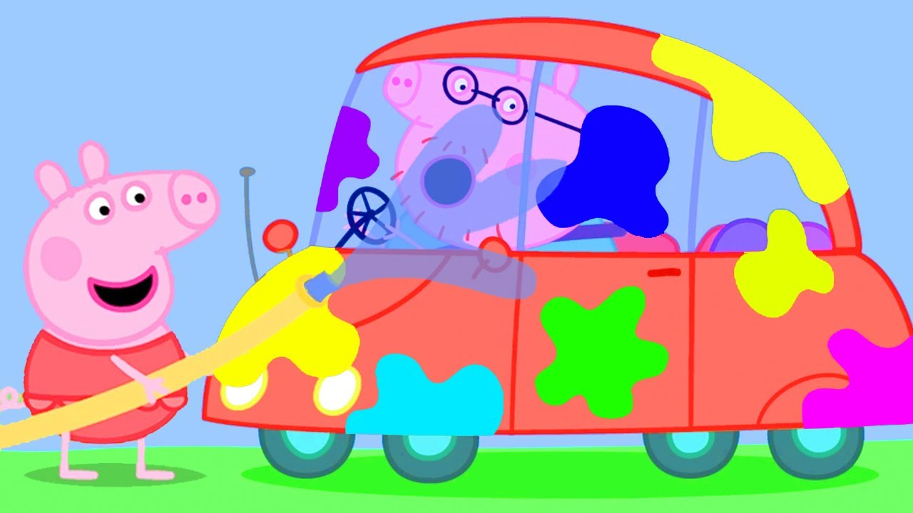 Peppa Pig Official Channel | Car Wash with Peppa Pig and Her Family