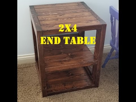 Workshop - 2x4 End Table Build