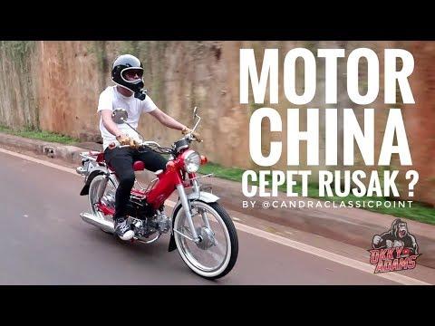 RESTORASI Motor Bebek Cina,  Mirip HONDA SUPER CUB??? JIALING