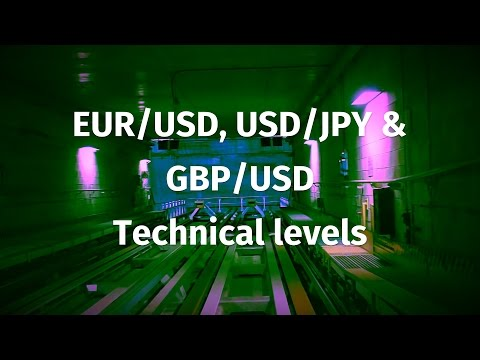EUR/USD, USD/JPY & GBP/USD technical levels