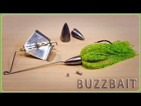 How To Make A Single Blade Buzzbait / バズベイトの作り方(シングルブレード)