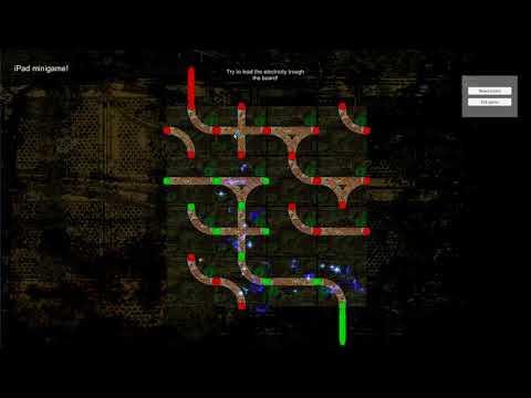 Ipad mini-game: New Electrical Effect