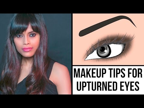 Glam Makeup Look For Upturned And Hooded Eyes   Makeup Tips