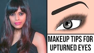 Glam Makeup Look For Upturned And Hooded Eyes | Makeup Tips