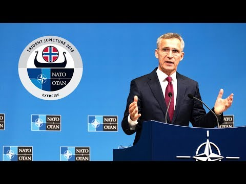 NATO Secretary General press conference on Trident Juncture 2018, 24 OCT 2018