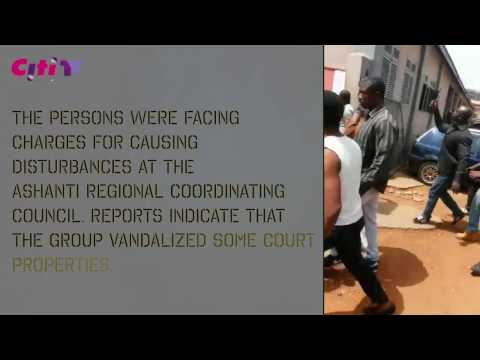 BREAKING: Delta Force attack Kumasi Court
