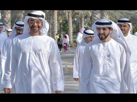 Sheikh Hamdan With Sheikh Mohammed Bin Zayed Al Nahyan in ABU DHABI