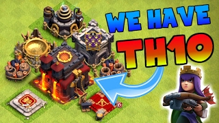 Clash Of Clans | WE FINALLY ARE TOWN HALL 10 | HOW TO START TH9.5 | UPGRADE SPREE |