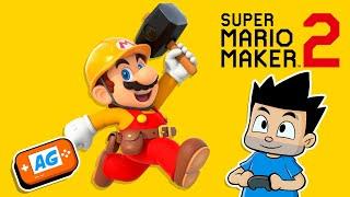 Juego Super Mario Maker 2 ENCERRADO en casa   Abrelo Game