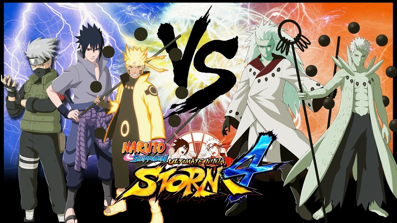 Naruto Ultimate Ninja Storm 4 Naruto Sasuke Kakashi Vs Madara Obito Japan Expo Gameplay 6 Youtube