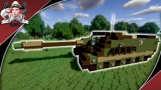 Minecraft: Cold War AMX-50 Foch | Tank Destroyer Tutorial