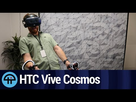 Testing the HTC Vive Cosmos