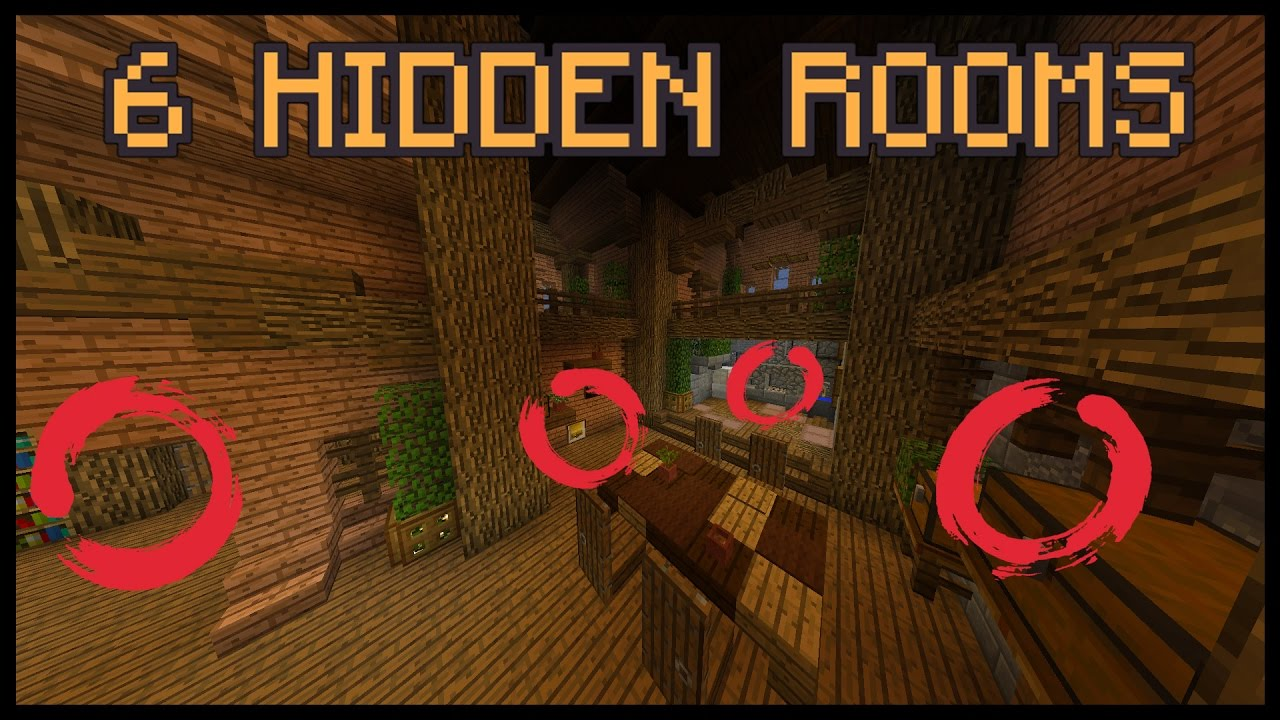 how to build a secret room in your house minecraft