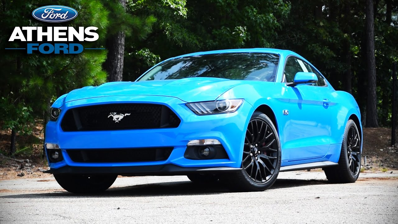 2017 Mustang Gt Review Return Of Grabber Blue