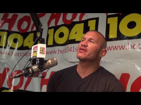 WWE's RANDY ORTON Prepares to Take Home the Belt in Hometown St. Louis