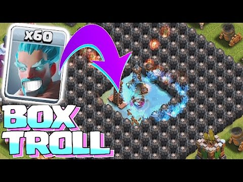 ALL WIZ IN A BOX!!🔸TROLL BOX W/ FREEZE TRAP!!🔸Clash of clans