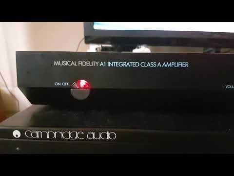 Refurbished musical fidelity A1 amplifer stunning sound