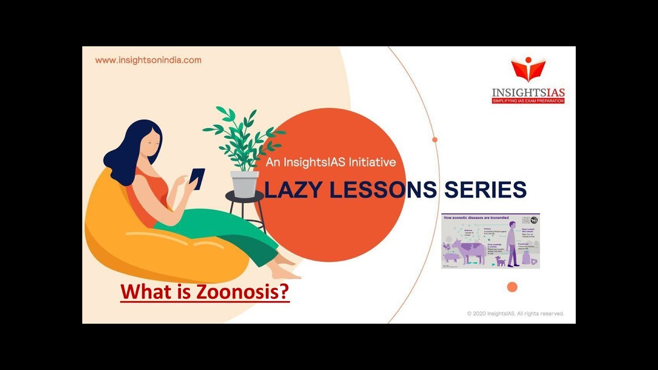 LAZY LESSONS : WHAT IS ZOONOSIS?
