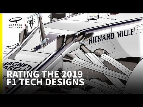 Rating each 2019 F1 car's technical designs
