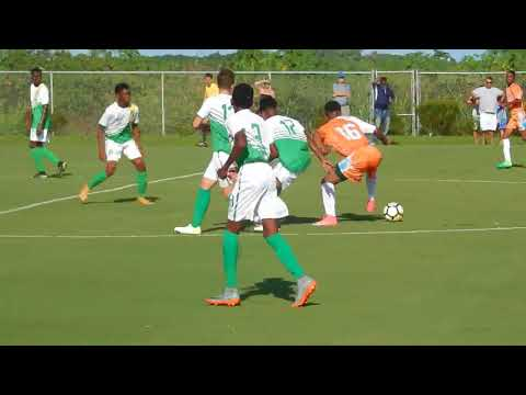 BVI U15's beat Anguilla, 4-0, CONCACAF Championship,August 13th 2017