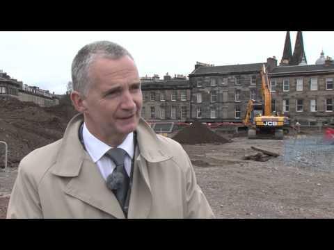 tHe Haymarket Edinburgh Ground Breaking 2016