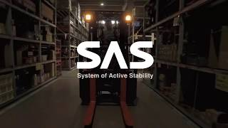 Toyota's Exclusive System of Active Stability available on selected Forklifts!