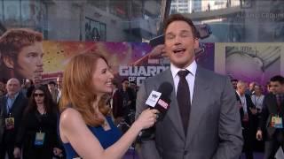 Chris Pratt Talks Star-Lord's Return at the Guardians of the Galaxy Vol. 2 Red Carpet Premiere
