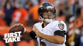 Broncos' trade for Joe Flacco part of a 'treadmill of mediocrity' - Will Cain | First Take
