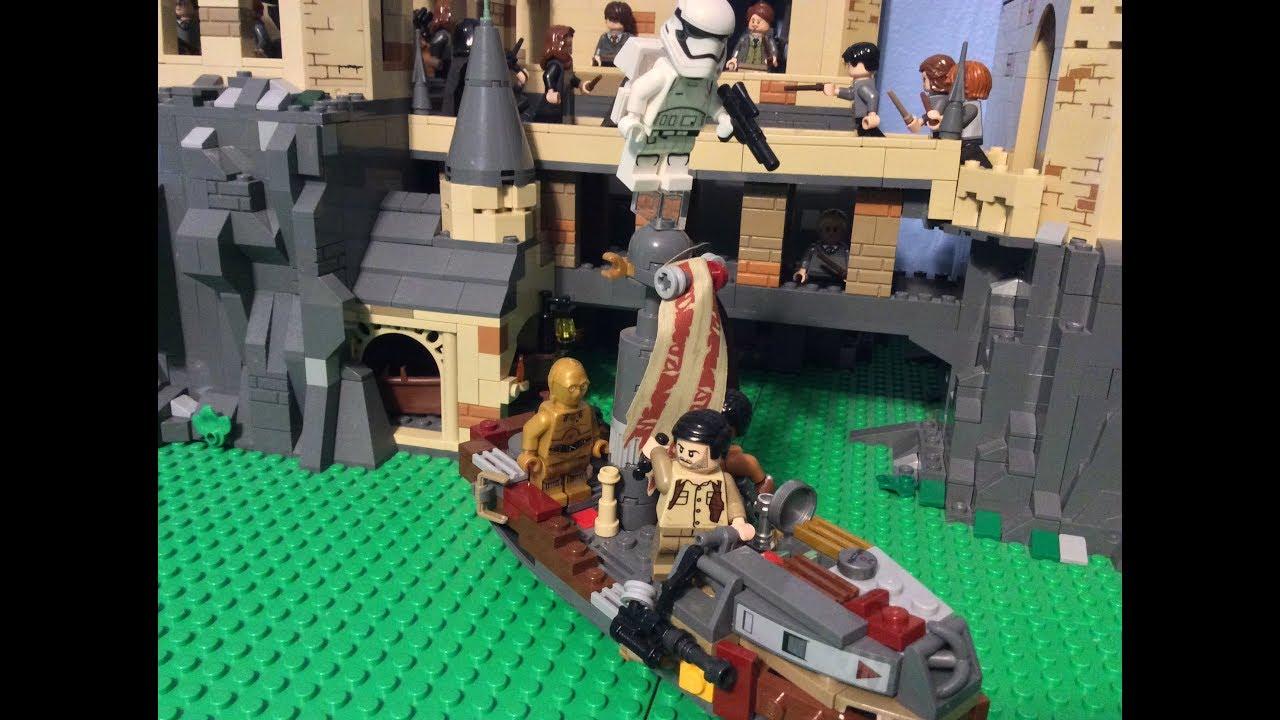 Lego Star Wars The Rise Of Skywalker Moc Poe And Finn S Speeder Youtube