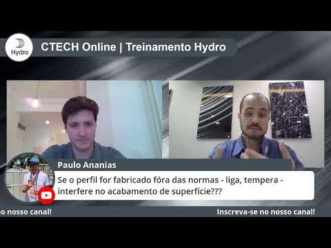 C-TECH Online Hydro | Perfis Extrudados - Acabamentos | 13 de agosto