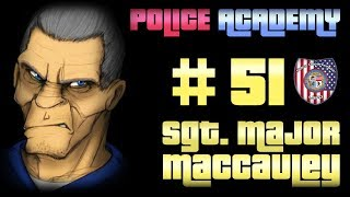 Police Academy #51 :   BINGO , ON A TUE SARAH CROW !