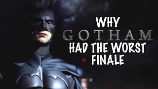 WHY THE GOTHAM FINALE WAS THE WORST