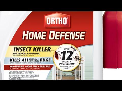 Ortho Home Defense: DIY Pest Control