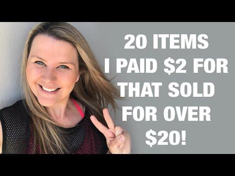 20 Items I Purchased For $2 That Sold For Over $20  | Australia EBay Seller