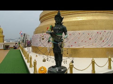 WAT SAKET_The Golden Mountain Pagoda (vidéo 2)