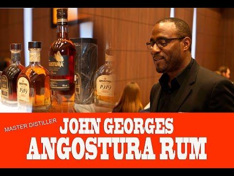 Master Distiller John Georges of Angostura Rum talks with Rumfest