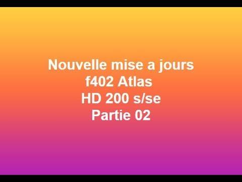 200S TÉLÉCHARGER 2018 HD F402 ATLAS LISTE FAVORIS