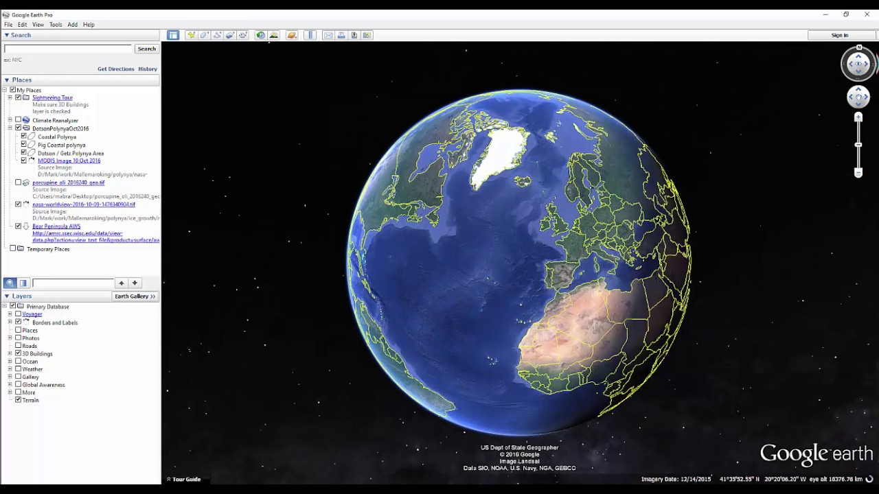 How to get a MODIS image into Google Earth
