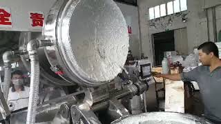 vacuum silent cutter/vacuum bowl cutter/vacuum ball cutter/meat processing machine/