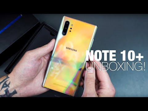 Galaxy Note 10+ Unboxing and Tour