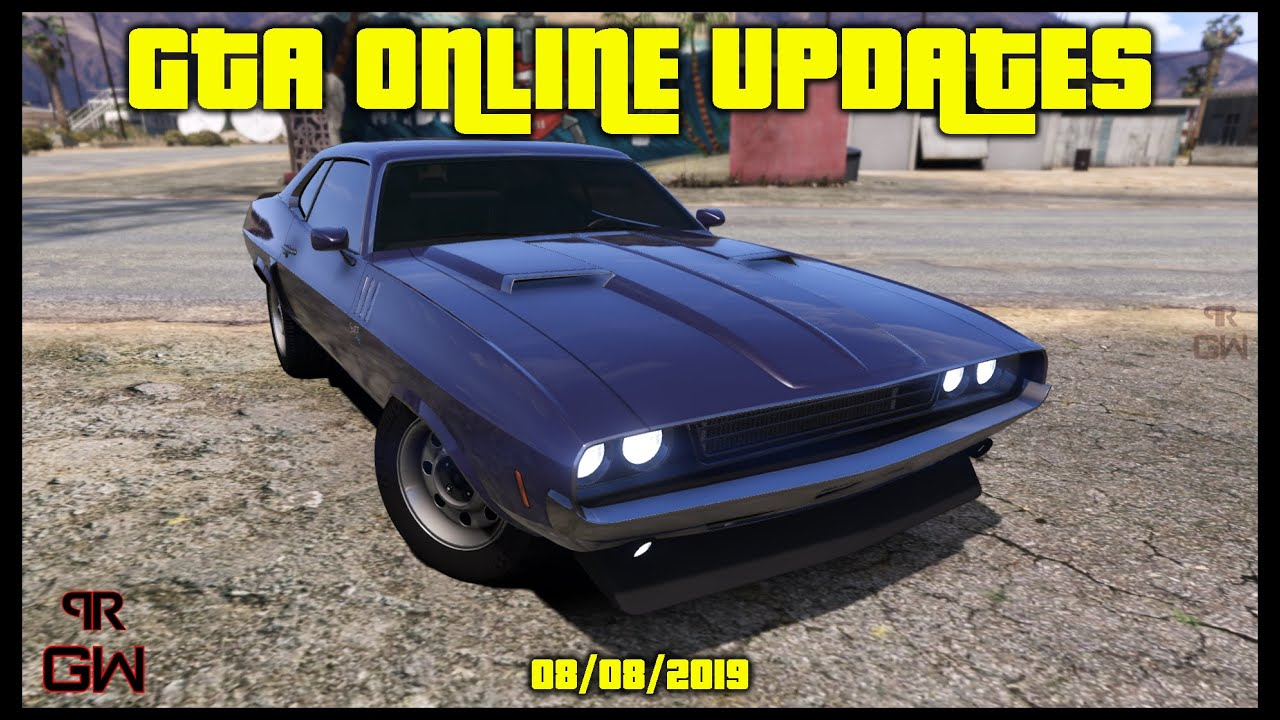 Gta 5 Update List 2019